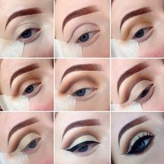 Eye Makeup Tutorials to Take Your Beauty to the Next Level ★ See more: http://glaminati.com/eye-makeup-tutorials-beauty/