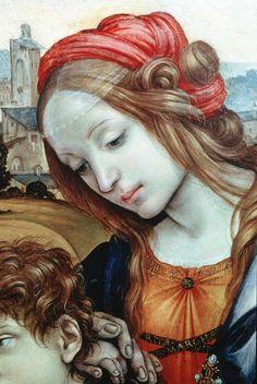 Filippino Lippi - Holy Family (detail)