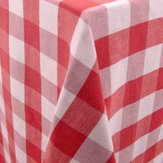 Lyme Check   Color: Berry - La Tavola Fine Linen