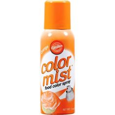 Wilton Halloween Color Mist Food Color Spray Set Includes 3 15 oz Cans in Black Orange and Violet ** Click image for more details. Wilton Cake Decorating, Cake Decorating Tools, Cake Supplies, Baking Supplies, Edible Cups, Fall Party Themes, Party Ideas, Orange Food Coloring, Color Spray