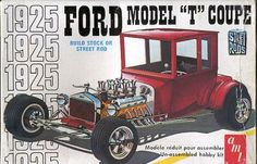 1925 Ford Model T Coupe box art