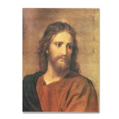Free 2-day shipping. Buy Trademark Fine Art 'Christ at Thirty-Three' Canvas Art by Heinrich Hofmann at Walmart.com Life Of Jesus Christ, Jesus Lives, Face Cleanser, Artist Canvas, Baby Clothes Shops, Canvas Art Prints, Wrapped Canvas, Fine Art, Portrait