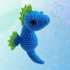 Seahorse -Amigurumipatterns.net