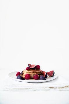 ... sugar and butter free yogurt pancakes ...
