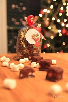 Pfefferminz-Marshmallow-Fudge #KnuspernuntermWeihnachtsbaum