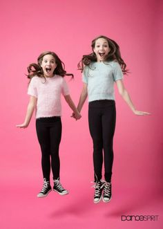 ~Maddie and Mackenzie (Dance Spirit Magazine)