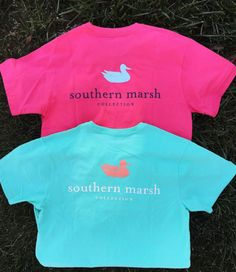 Keepin' it classic with the logo tees! Shop these + more Southern Marsh online now --> {link in bio} #southernmarsh #shopPD