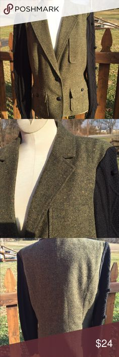 Kensie Blazer Jacket With Sweater Sleeves Size L Size Large. Super gently preowned. Be sure to view the other items in our closet. We offer both women's and Mens items in a variety of sizes. Bundle and save!! Thank you for viewing our item!! Kensie Jackets & Coats Blazers