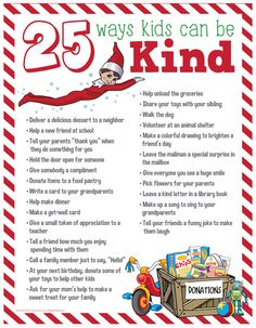 Great Photos 25 Acts of Kindness for Kids to Try This Holiday Season Ideas 25 Acts of Kindness for Kids Kindness For Kids, Kindness Elves, Kindness Ideas, Kindness Activities, Christmas Countdown, Christmas And New Year, Christmas Holidays, Christmas Crafts, Christmas Names