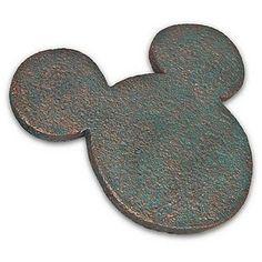 Disney Garden Stepping Stone - Flower and Garden - 2012 Mickey Mouse