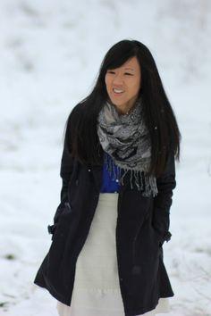 Navy Blue + Black | Winter Fashion