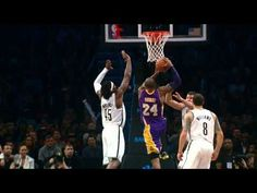 Kobe Bryant transcending the limitations set by time when the team needs it. #CountOnKobe