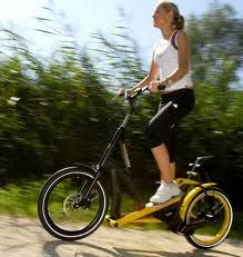 stepper bike - I'm all for making working out fun. Can't tolerate it otherwise!