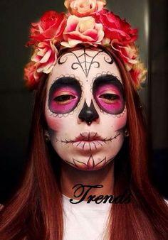 138 Mejores Imágenes De Catrinas Costumes Make Up Y Costume
