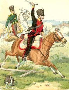 Cavalieri prussiani del rgt. di cavalleria silesiana