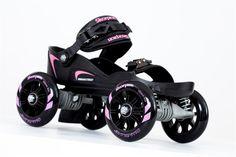 Skorpion™ Quadline® Street Skates (Small Pink/Black ) | Skorpion Sports Ltd
