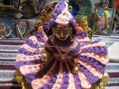 How to make winter dress for Bal Gopal - Crochet design of two colour. Make dress Poshak of bal gopal - crochet dress in two colour - DIY - Crochet dress in two colour Design - Bal Gopal Ladoo Gopal Kanha ji Krishna thakurji - Winter dress Poshak - Bal Crochet Winter Dresses, Diy Crochet Dress, Crochet Baby, Laddu Gopal Dresses, Bal Gopal, Ladoo Gopal, Hd Images, Crochet Designs, Knitting Patterns
