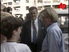 Princess Diana in Bosnia ~ Rare footage  Diana, Princess of Wales, started her three day anti-landmine trip through Bosnia with a visit on Friday. August 8, 1997.