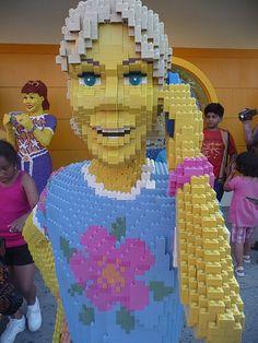 Life size Lego people