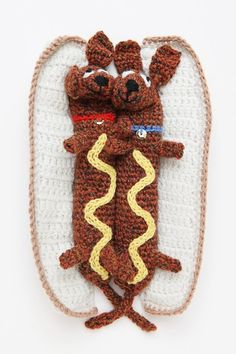 Incredibly Creative Food Art Crocheted with Yarn - My Modern Metropolis