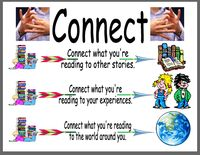 ... One 1. Making Connections Text to Text, text to self, text to world