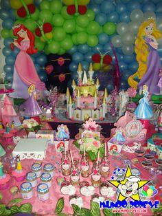Fiesta de princesas Disney