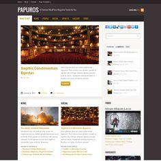 Papuros WordPress Theme