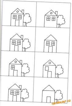 Grade R Worksheets, Preschool Worksheets, Preschool Crafts, Montessori Activities, Activities For Kids, Visual Perception Activities, Nursery Rhymes Preschool, Handwriting Activities, Kids Poems