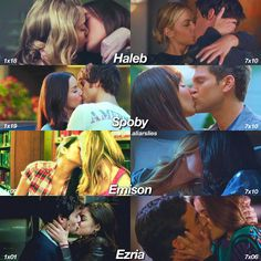 ❤<<<I actually really like PLL but these ship names....Spoby?!