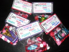 WHEEL you be my valentine?? diy valentine goody bag for boys tutorial