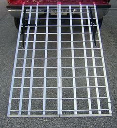 Motorcycle ATV Folding Loading Ramp Aluminum 1200lbs Rated 71″ Long 44″ Wide $ 119.95 Motorcycle & ATV Product Features Pit Posse POSSE ATV RAMP 71×44 PP2754 N/A 27 Motorcycle & ATV Product Description Durable and lightweight ramp is weather-resistant and built from 6063 aluminum. E-Z grip rubber truck rest prevent tailgate damage. Ramp comes equipped with a tie-down strap for safe and worry free loading. 5 year […] http://www.liveautomotive.com/motorcycle-atv-fo..