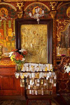 Miracle working icon of the Virgin Mary, Byzantine Orthodox monastery of Pantanassa, Greece