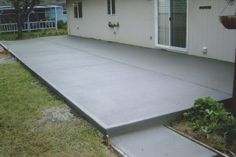 slab patio - Google Search
