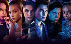 Download wallpapers Riverdale, 2017, Camila Mendes, Betty Cooper, Cole Sprouse, Veronica Lodge, Lili Reinhart, Cheryl Blossom, Madelaine Petsch, Ashleigh Murray