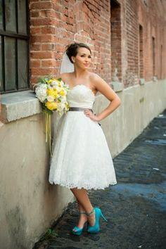 retro bridal style @cleverwedding