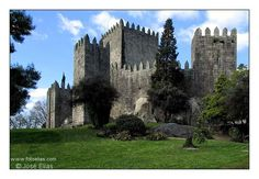 Guimaraes castle is probably the best known and mythical in Portugal