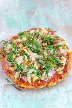 Lust auf Pizzaboden mal anders? Richtig lecker, gesund und dank Kokosmehl sogar glutenfrei. Dann probier dieses Rezept mit Kokosmehl.