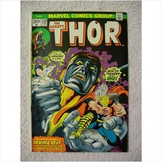 Online Marketplace at eBid United States : Free to Bid Thor Comic Book, White Pages, Bronze Age, Cosmos, Marvel Comics, Weird, Auction, United States, Art