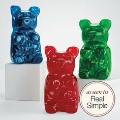 5 lb gummy bear at RedEnvelope.com...I think I need to get this for one of the kiddos at Christmas just to satisfy my curiosity