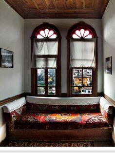 House in Safranbolu, Turkey. Turkish Architecture, Ottoman, Interior And Exterior, Interior Design, Old Houses, Decoration, Beautiful Homes, Sweet Home, House Design