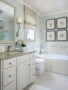 A water closet is situated just ahead. Bathroom may not be separated from the water and it has to be ideal for decorating the master bathroom with something connected with water like the beach. A massive shower is put in the front of the vanity.