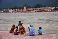 On Ganga river Rishikesh - India Rishikesh India, Haridwar, River I, India Culture, Dehradun, Hinduism, India Travel, Incredible India, Best Part Of Me