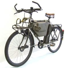 Troops riding on this bike do not exist anymore :-( Swiss Army Bike, Military Mountainbike