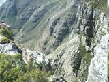 Platteklip to Upper Cableway Station Walk in Table Mountain National Park Table Mountain, Hiking Trails, Cape Town, Mount Everest, National Parks, Explore, Mountains, Water, Travel