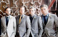 Groomsmen. Weddings by Leslee Mitchell.