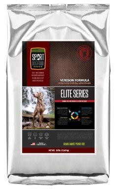 SportDogFood Elite Grain Free Dog Food, Special Blend Venison, 30-Pound|||Price: $57.47