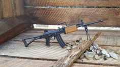 1/6 Scale Assault Rifle Gun IMI Galil