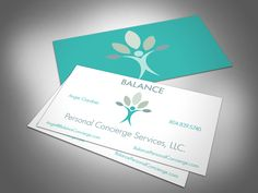 This is a card for a new start up business - a Personal Concierge Service. | Learn how to start your own today! Concierge101.com