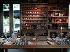 restaurant en winkel