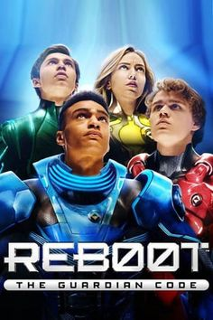 Information page about 'Reboot: The Guardian Code' (starring Ty Wood, Ajay Friese, Gabriel Darku and more) on Netflix UK :: from MaFt's NewOnNetflixUK All Movies, Family Movies, I Movie, Reboot Cartoon, Neverending Story Movie, Code Movie, Netflix Uk, Cinema Online, The Tenses